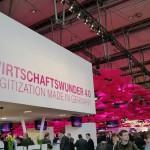 Stand der Telekom zum CeBIT 2015