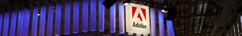 Bild vom Adobe Stand auf der dmexco, Foto von Atilla Wohllebe
