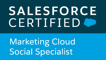 Atilla Wohllebe - Salesforce Certified Marketing Cloud Social Specialist
