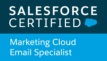 Atilla Wohllebe - Salesforce Certified Marketing Cloud Email Specialist