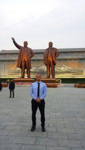 DPRK - Koryo Tours - Nordkorea - Pyongyang / Pjöngjang Mansudae Monument