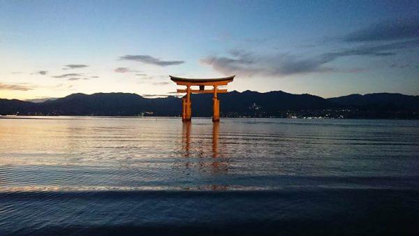 Der Itsukushima-Schrein