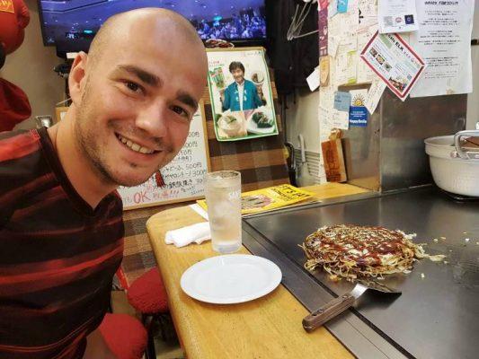 Mein erster Okonomiyaki